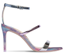 85MM ROSALIND PATENT LEATHER SANDALS