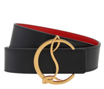 35MM WCL LOGO LEATHER BELT