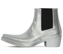 40MM CAROL RUBBER COWBOY ANKLE BOOTS