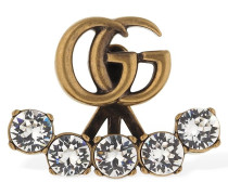 GG MARMONT CRYSTAL MONO EARRING