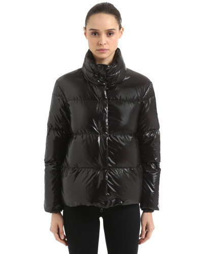 ALANE SHINY NYLON DOWN JACKET
