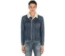 DENIMJACKE 'TYPE 3 SHERPA TRUNCKER'