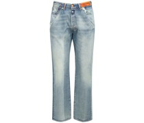 22CM LEVI'S COTTON DENIM JEANS
