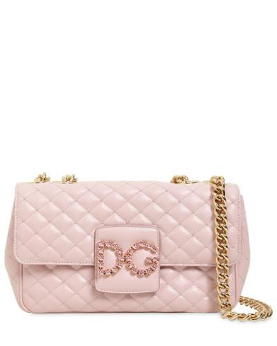 Dolce & Gabbana Damen GESTEPPTE SCHULTERTASCHE AUS LEDER Ebay Auslass Freies Verschiffen Fälschung Offiziell pIi7ciy