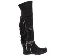 70MM HOHE WEDGE-STIEFEL 'DEILAH'