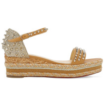 60MM MADMONICA LEATHER & ROPE WEDGES