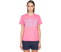 'EVERY DAY I LOVE YOU' COTTON T-SHIRT