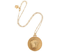 EMBOSSED COIN NECKLACE