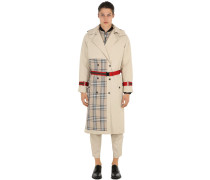TRENCHCOAT MIT PATCHWORK