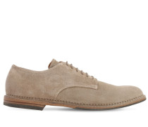 25MM SUEDE LACE-UP SHOES
