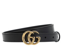 20MM GG MARMONT SHINY LEATHER BELT
