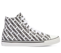 20MM HOHE SNEAKERS AUS CANVAS MIT LOGO