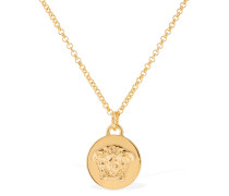 MEDUSA COIN PALAZZO NECKLACE