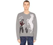 PULLOVER AUS WOLLJACQUARD 'RODEO'