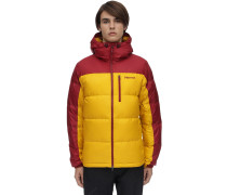 GUIDES HOODED DOWN JACKET