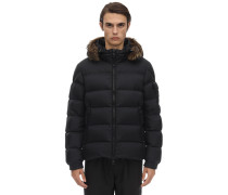 MARQUE DOWN JACKET W/ COYOTE FUR COLLAR