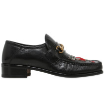 LOAFERS AUS LEDER MIT PATCH 'VEGAS'