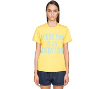 'EVERY DAY AN ADVENTURE' COTTON T-SHIRT