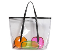 PVC TOTE BAG & 3 POUCHES