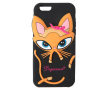 IPHONE 7-COVER AUS SILIKON 'KITTEN'