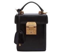 GRACE CUBE SETA BOX LEATHER BAG