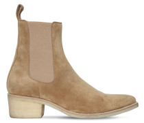 50MM SUEDE CHELSEA BOOTS