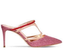 80MM GLITTERED MULES