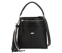 SMALL THEA LEATHER SHOULDER BAG