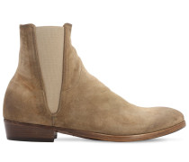 35MM SUEDE CHELSEA BOOTS