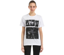 T-SHIRT AUS JERSEY 'PABLO COTS MINOR THREAT'