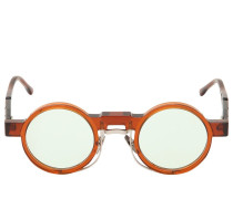 ROUND DOUBLE FRAMED SUNGLASSES
