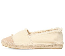 20MM KAMPALA COTTON CANVAS ESPADRILLES