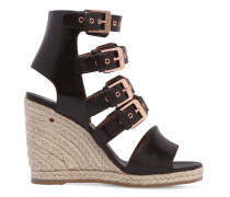 90MM HOHE WEDGE-STIEFEL 'ROSARIO'