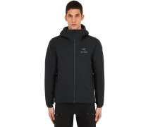 ATOM LT HOODED NYLON JACKET