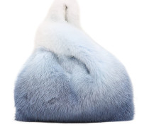 MINI FURRISSIMA DEGRADE MINK FUR BAG
