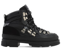 45MM SPORTY LEATHER HIKING BOOTS