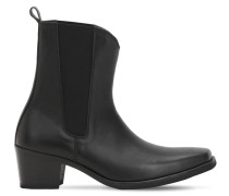 60MM LEATHER BOOTS
