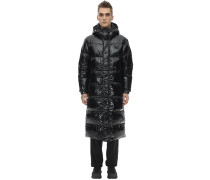 ZANIAH LONG NYLON DOWN JACKET
