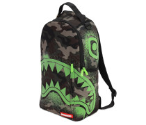 GLOW IN THE CAMO SHARK BACKPACK