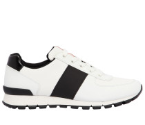 SNEAKERS AUS ELDEER UND NYLON-CORDURA 'MATCH RACE'