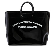 MEDIUM TOTE AUS PVC 'TWINS POWER'