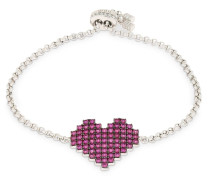 ARMBAND 'PIXEL RED HEART'
