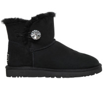 MINI STIEFEL AUS SHEARLING 'BAILEY BUTTON BLING'