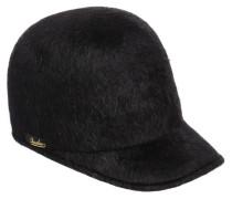 RABBIT FUR FELT BASEBALL HAT