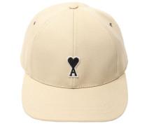 LOGO PATCH COTTON GABARDINE BASEBALL HAT