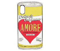 IPHONE X-COVER 'AMORE CAN'