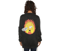 BART PRINTED COTTON KNIT PULLOVER