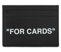 KARTENETUI AUS LEDER 'FOR CARDS'