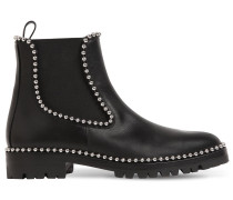 35MM SPENCER STUDDED CHELSEA BOOTS