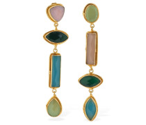 PENDANT CLIP-ON EARRINGS W/STONES